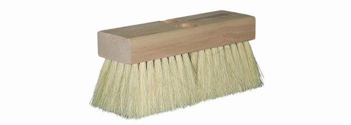 "Magnolia Brush 8"" White Tampico Tile Setter Brush"