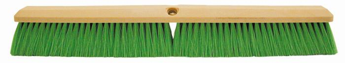 "Magnolia Brush 24"" Green Nylon Concrete Finishing Brush"