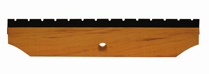"Magnolia Brush 18"" Black Top Notched Squeegee Applicator Brush"
