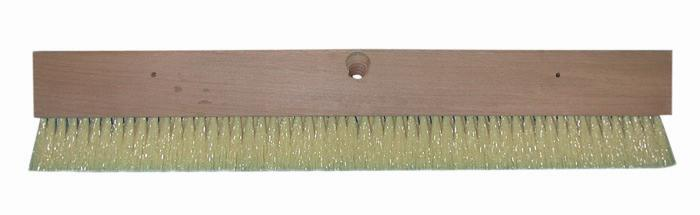 "Magnolia Brush 24"" Cream Polypropylene Squeegee & Brush Coater"
