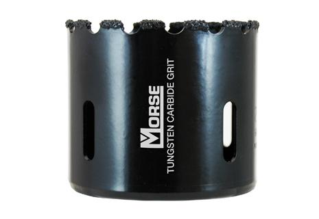 "M.K. Morse 6-3/8"" Tungsten Carbide Grit Hole Saw"