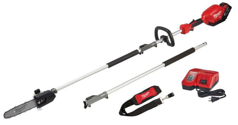 "Milwaukee M18 FUEL™ 10"" Pole Saw Kit W/Quik-Lok Attachment Capabilities"