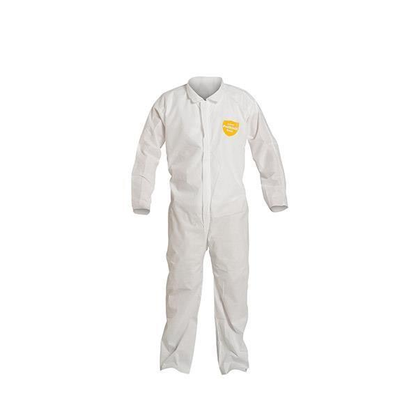 DuPont™ ProShield® Basic Coveralls w/ Open Wrists & Ankles White