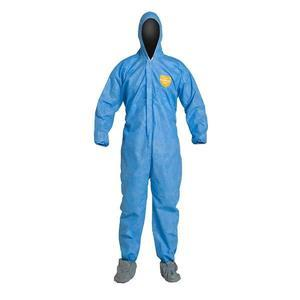 DuPont™ ProShield® Basic Coveralls w/ Hood, Elastic Wrists, & Attached Boots
