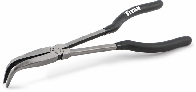Titan  11in 90 Degree Long Nose Pliers