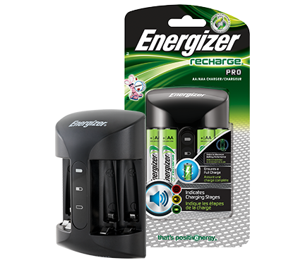 Energizer® Recharge® Pro Charger (For AA/AAA Batteries)
