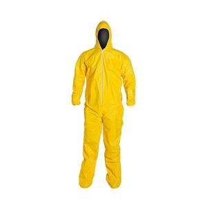 DuPont™ Tychem® QC Coveralls w/ Attached Socks