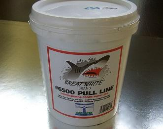Poly Pull Line 1-Ply White, 6500