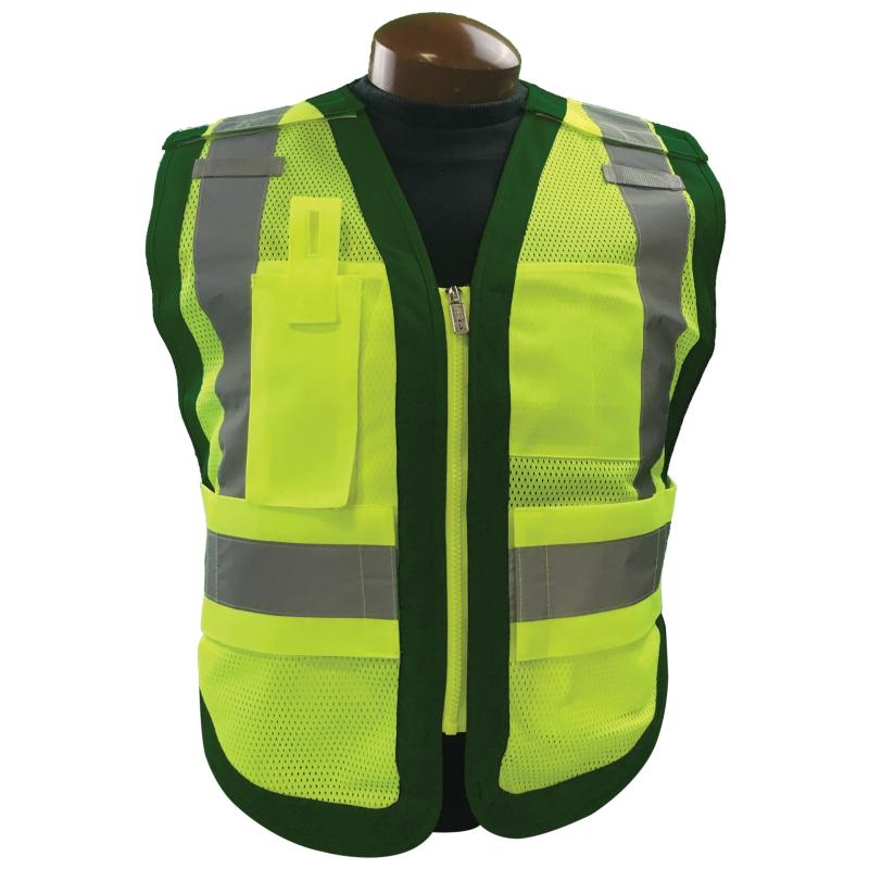 Public Safety Vest Class 2 Green