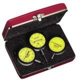 Starrett S253MZ SET OF 3 METRIC DIAL INDICATORS