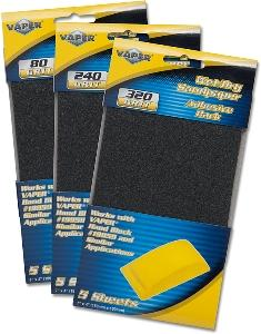 Titan 5pc. 7in 320 Grit Sand Paper