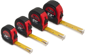 Titan 4pc. Tape Measure Set