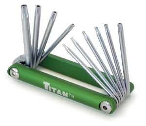 Titan 10pc. Tamper Resistant Star Key Set