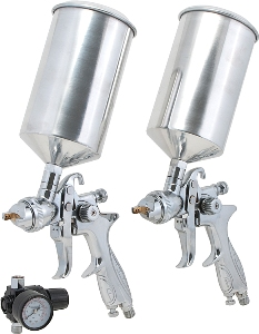Titan 3pc. Dual Set Up HVLP Spray Gun Kit