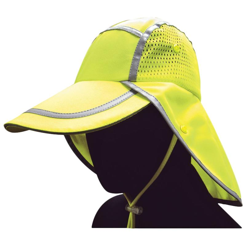 Sun Hat ANSI Certified Fabric w/ UV Protection/Lime