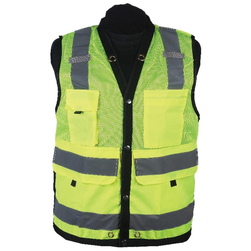 Lime Surveyor Map Vest