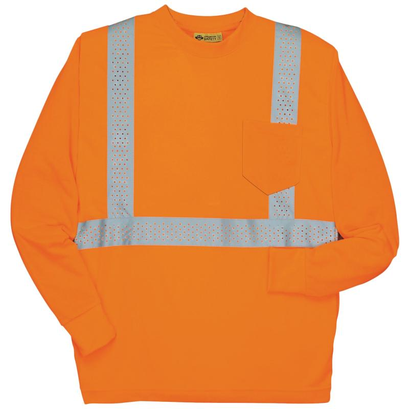 Long Sleeve Orange Class 2 T-Shirt
