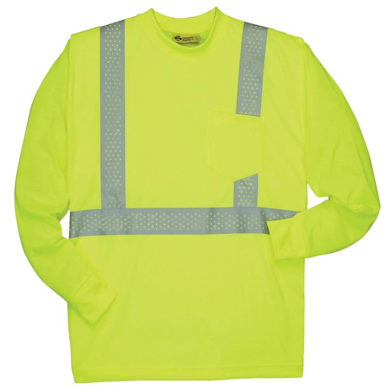 Long Sleeve Lime Class 2 T-Shirt