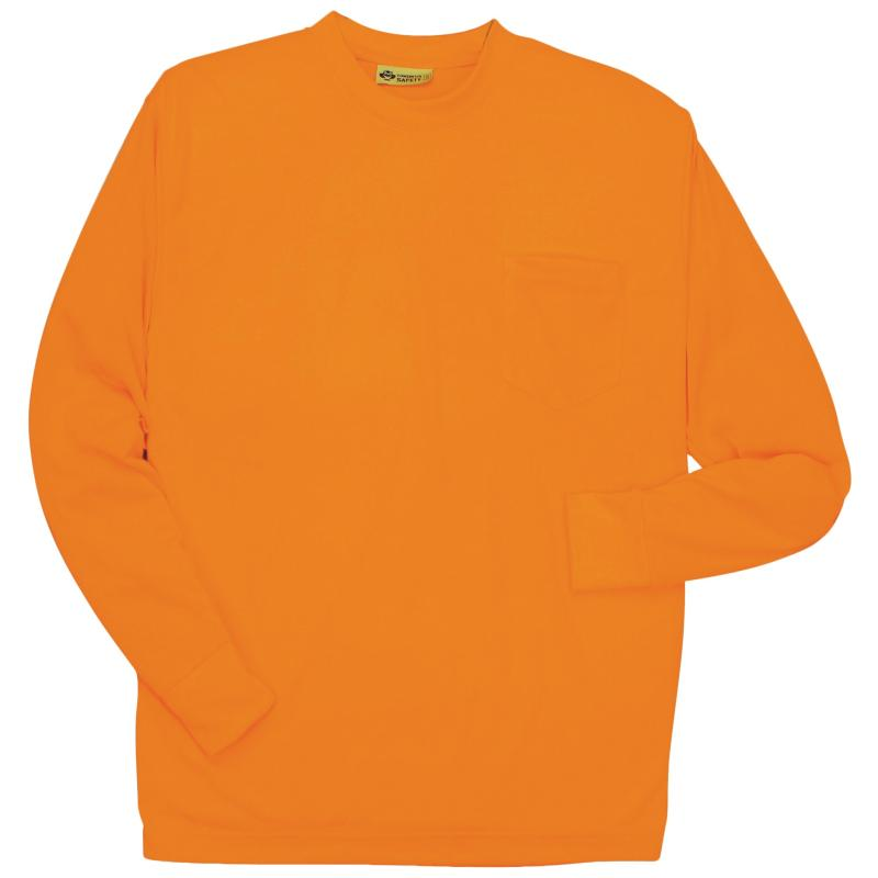 Long Sleeve Orange without Reflective Stripe