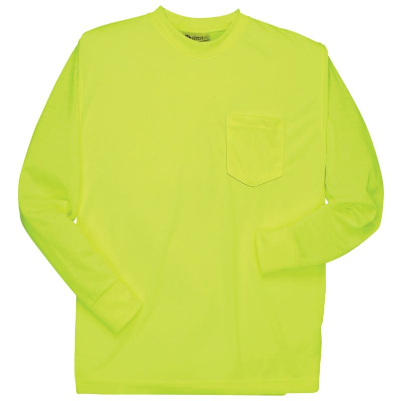 Long Sleeve Lime without Reflective Stripe