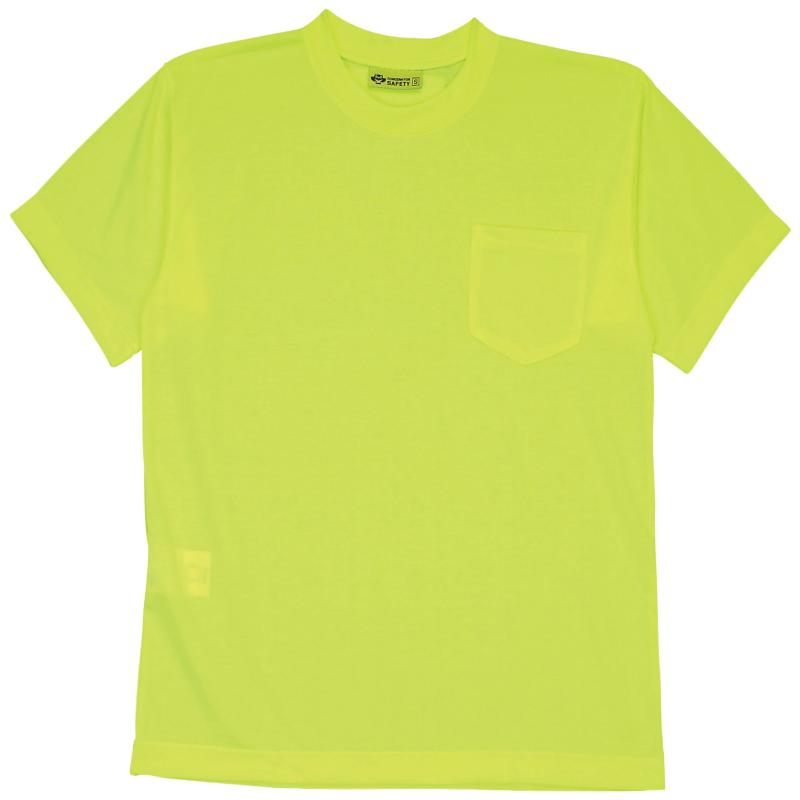 Short Sleeve Lime without Reflective Stripe