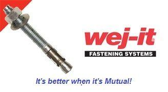 wej-it® Wedge Anchors 304 Stainless Steel