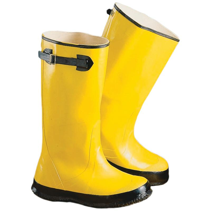 Yellow Slush Boots