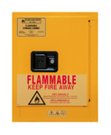 "Durham MFG® Manual 4 Gallon 17-3/8"" x 18-1/8"" x 22-1/8"" Flammable Storage Cabinet"