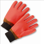 West Chester 1007OR Safety Orange PVC Coated Gloves