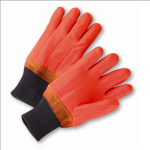 West Chester 1007ORF Safety Orange PVC Coated Gloves