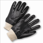 West Chester 1007RF Rough PVC Interlock Coated Gloves