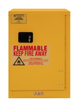 "Durham MFG® Manual 12 Gallon 23"" x 18"" x 35"" Flammable Storage Cabinet"