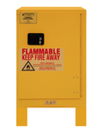 "Durham MFG® Manual 12 Gallon 23"" x 18"" x 41"" Flammable Storage Cabinet"