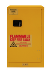"Durham MFG® Manual 16 Gallon 23"" x 18"" x 44"" Flammable Storage Cabinet"