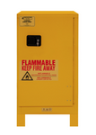 "Durham MFG® Manual 16 Gallon 23"" x 18"" x 50"" Flammable Storage Cabinet"