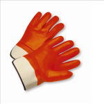 West Chester 1017OR Safety Orange PVC Coated Gloves