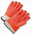 West Chester 1017ORF Safety Orange PVC Coated Gloves