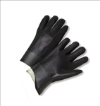 "West Chester 1017RF Rough Grip Finish PVC Interlock 10"" Gloves"