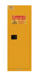 "Durham MFG® Manual 22 Gallon 23-5/16"" x 18-1/8"" x 65"" Flammable Storage Cabinet"