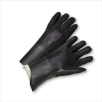 "West Chester 1027RF Rough Grip PVC Interlock 12"" Gloves"