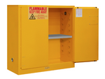 "Durham MFG® Manual 30 Gallon 43"" x 18"" x 44"" Flammable Storage Cabinet"