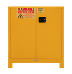 "Durham MFG® Manual 30 Gallon 43"" x 18"" x 50"" Flammable Storage Cabinet"
