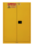 "Durham MFG® Manual 45 Gallon 43"" x 18"" x 65"" Flammable Storage Cabinet"