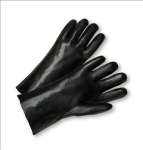"West Chester 1047 Standard Smooth Grip PVC Interlock 14"" Gloves"