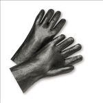 "West Chester 1047R Semi-Rough PVC Interlock 14"" Gloves"