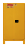 "Durham MFG® Manual 60 Gallon 34"" x 34"" x 71"" Flammable Storage Cabinet"