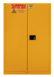"Durham MFG® Manual 90 Gallon 43"" x 34"" x 65"" Flammable Storage Cabinet"