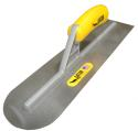 "Gator 12"" x 2"" Round Front, Square Back Carbon Steel Hand Trowel"