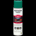Rust-Oleum® Water-Based Precision Line Marking Paint  AWPA CAUTION GREEN (17 oz Aerosol)
