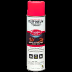 Rust-Oleum® Water-Based Precision Line Marking Paint  FLUORESCENT PINK (17 oz Aerosol)